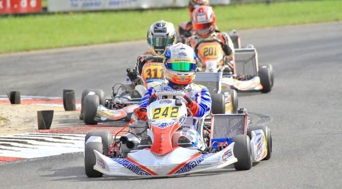John Norris mit Mach1 Kart bei der DKM in Kerpen