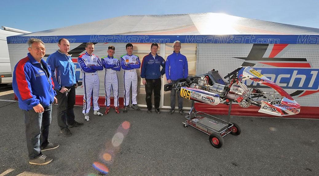 Mach1 Motorsport bei der Margutti Trophy 2015