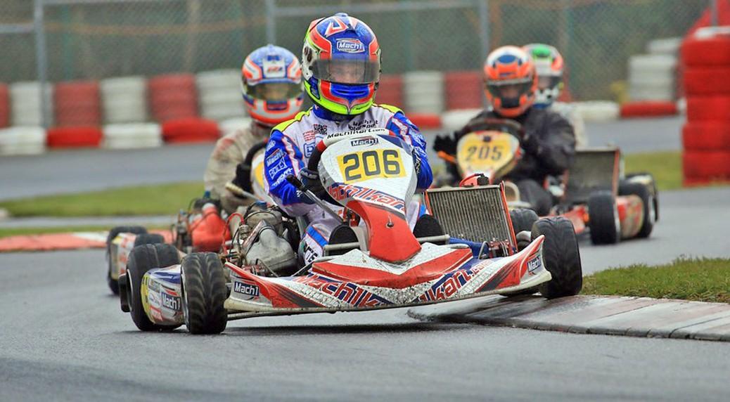 John Norris mit Mach1 Motorsport bei der DKM in Wackersdorf