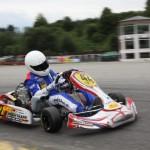 Mario Abbate bei den ADAC Kartmasters mit Mach1 Kart