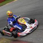 Lucas Speck beim ADAC Kartmasters mit Mach1 Kart