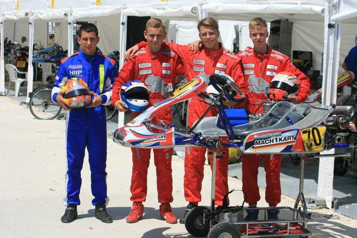 Mach1 Kart bei der CIK-FIA U18 Weltmeisterschaft