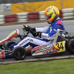 Lucas Speck at the ADAC Kartmasters in Wackersdorf with Mach1 Kart