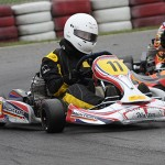 Luca Walter at the ADAC Kartmasters in Wackersdorf with Mach1 Kart