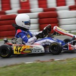 Mario Abbate at the ADAC Kartmasters in Wackersdorf with Mach1 Kart