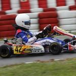 Mario Abbate bei den ADAC Kartmasters in Wackersdorf mit Mach1 Kart