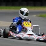 Alexander Heil mit Mach1 Kart beim Bundesendlauf in Wackersdorf