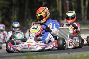 Jannick Flygenring mit Mach1 Kart bei der DKM in Kerpen