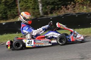 Martin Mortensen mit Mach1 Kart bei der DKM in Kerpen