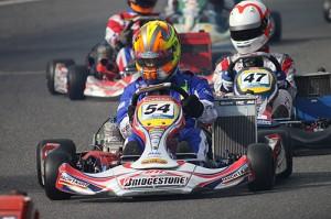 Lucas Speck mit Mach1 Kart bei der DKM in Kerpen