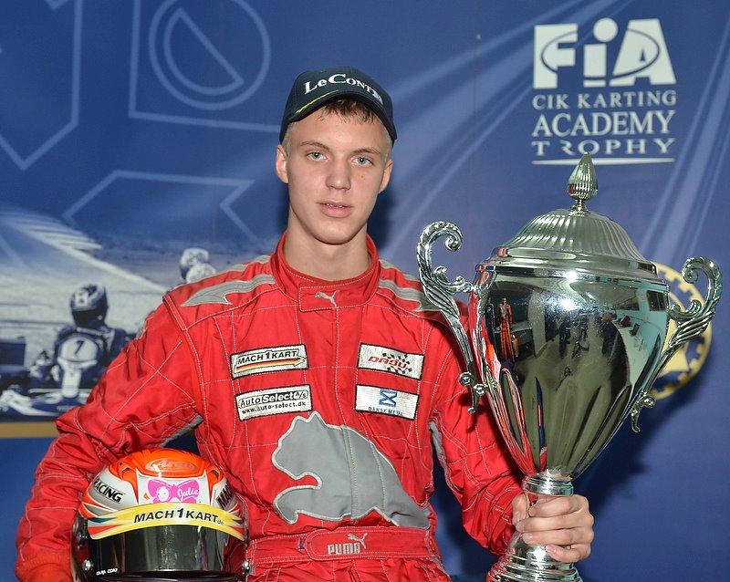 Martin Mortensen mit Mach1 Kart bei der U18 WM