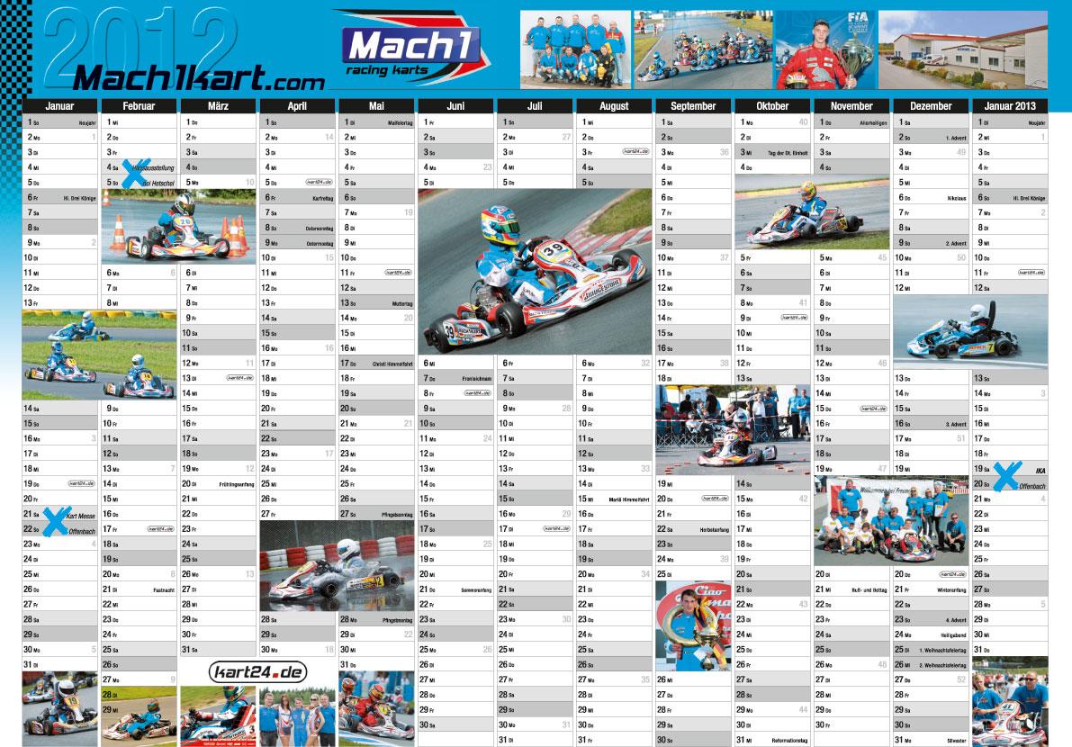 Mach1 Kalender 2012