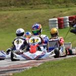 John Norris mit Mach1 Kart bei der CIK/FIA KF2 EM