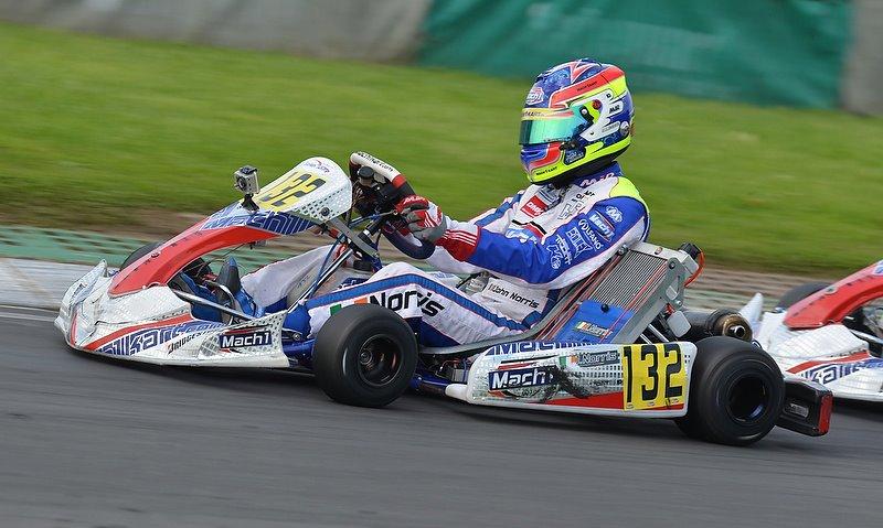 Mach1 Motorsport bei der CIK/FIA KF2 Europameisterschaft
