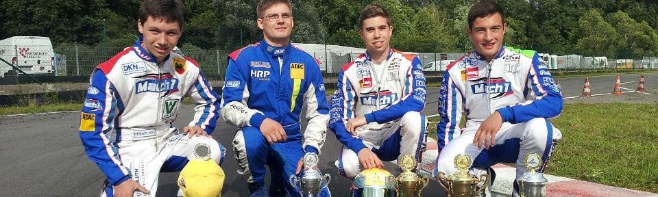 Mach1 Motorsport Piloten beim ADAC Kartmasters in Liedolsheim