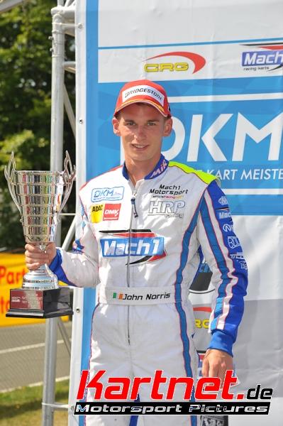 John Norris mit Mach1 Kart bei der DKM in Hahn