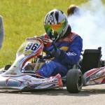 Yannick Schorr bei den deutschen Amateur Kartslalom Meisterschaften mit Mach1 Kart
