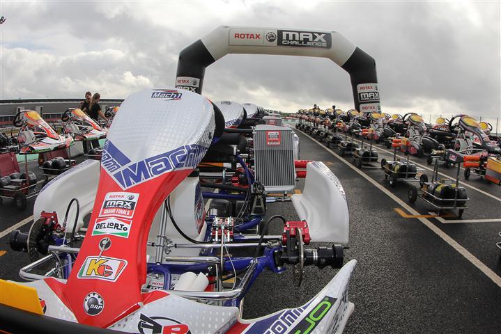 Mach1 Kart bei den Rotax MAX Grand Finals 2012