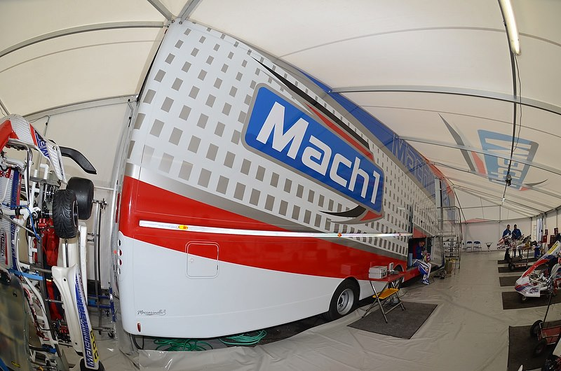 Mach1 Motorsport beim Wintercup in Lonato