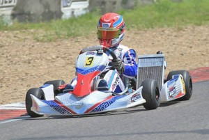 Mach1 Motorsport Pilot Nico Hagenaes beim Bridgestone Cup