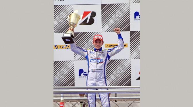 John Norris mit Mach1 Kart bei der Kart-Europameisterschaft