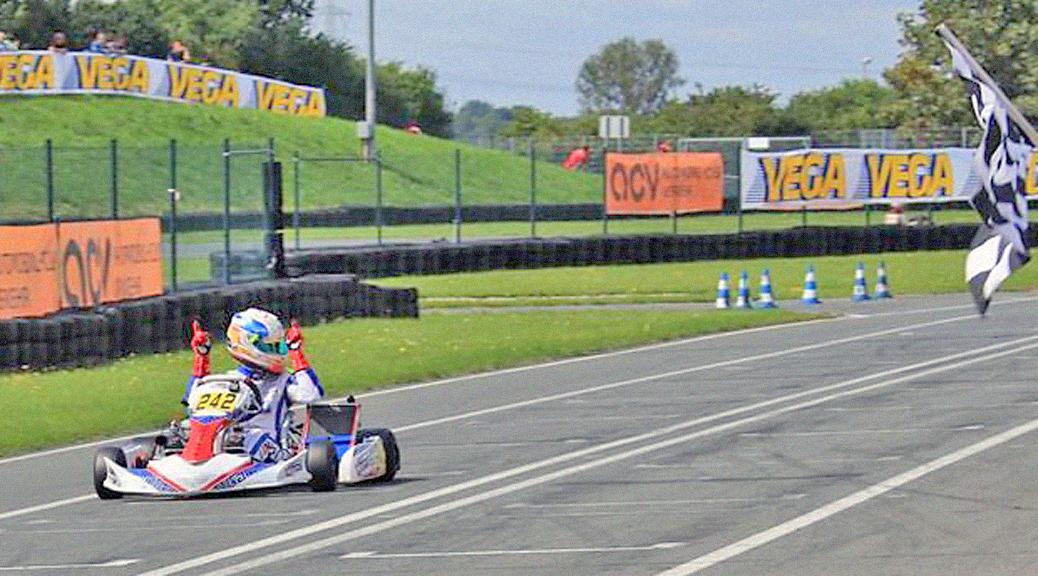 John Norris mit Mach1 Motorsport bei der DSKM in Oschersleben