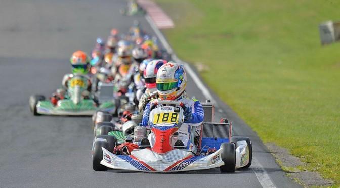 John Norris und Mach1 Motorsport bei der KF2 EM in England