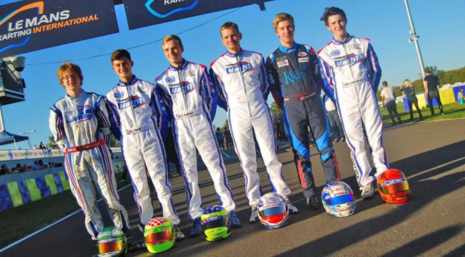 Mach1 Motorsport beim X30 International Final in Le Mans