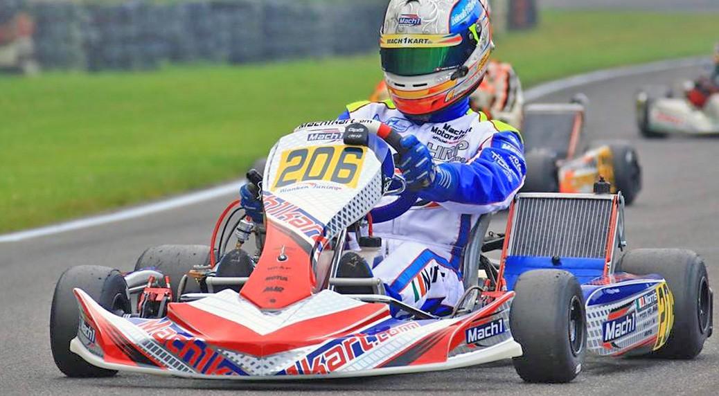 Mach1 Motorsport mit John Norris, Phillip Orcic, Thomas neumann und Pawel Myskier bei der DKM in Kerpen