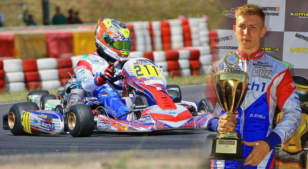 Mach1 Motorsport mit Daniel Stell bei den ADAC Kartmasters in Wackersdorf