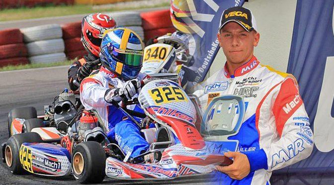 Julian Müller mit Mach1 Motorsport bei der DKM Wackersdorf
