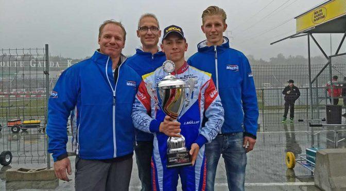 Mach1 Motorsport mit Julian Müller bei der DKM in Lonato