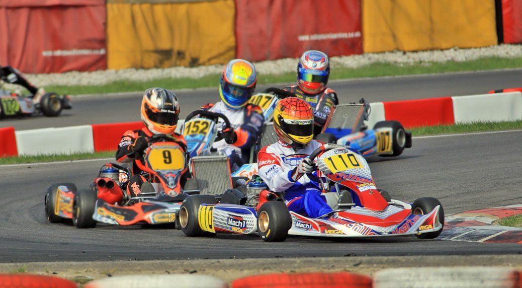 David Livinski mit Mach1 Motorsport bei den ADAC Kartmasters in Wackersdorf