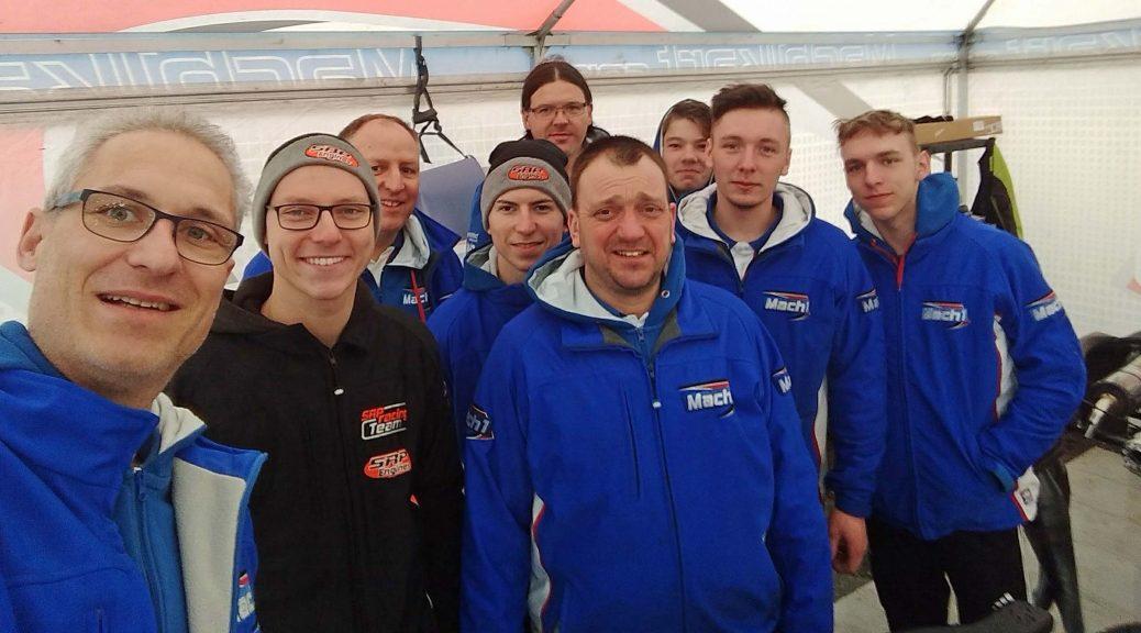 Mach1 Motorsport bei der Margutti Trophy mit Tim Tröger, Daniel Stell und David Liwinski